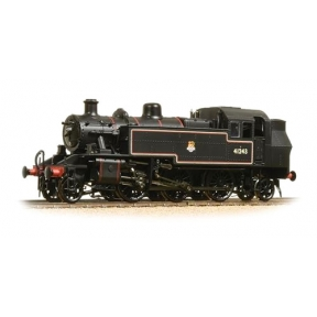 Ivatt Class 2MT 2-6-2 Tank 41243 BR Lined Black Early Crest