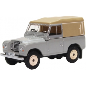 Land Rover Series III Canvas Mid Grey