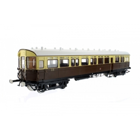 GWR Autocoach GW Chocolate & Cream Twin Cities