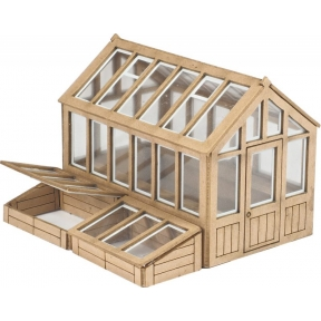 OO Gauge Greenhouse