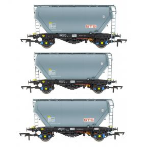 Pack Of Three PCA Bulk Cement Wagons STS