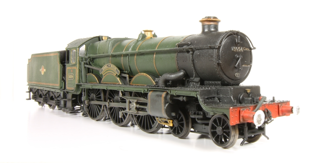 GW Castle 5054 'Earl Of Ducie' - complete repaint and relining of a Hornby Castle before weathering.