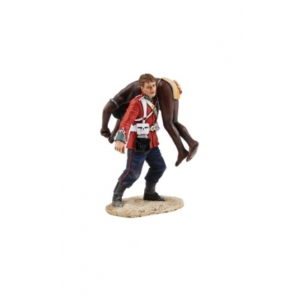 'Clearing the Yard' Set No.1 - British 24th Foot Carrying