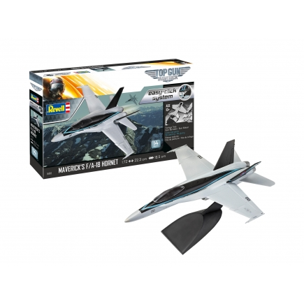 Revell 04965 Top Gun Maverick's F/A-18 Super Hornet Easy Click Kit