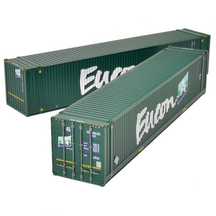 Bachmann 36-101 45ft Containers 'Eucon' (x2)