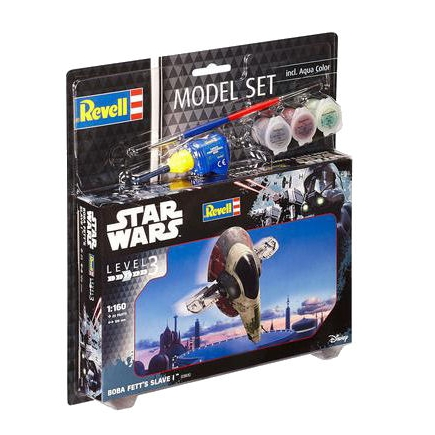 Revell Star Wars Model Set - Boba Fett's Slave I
