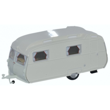 Oxford Diecast OO Gauge Carlight Continental Caravan
