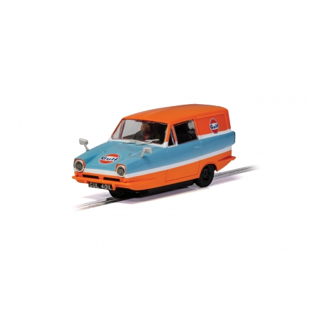 Scalextric C4193 Reliant Regal Van Gulf Edition
