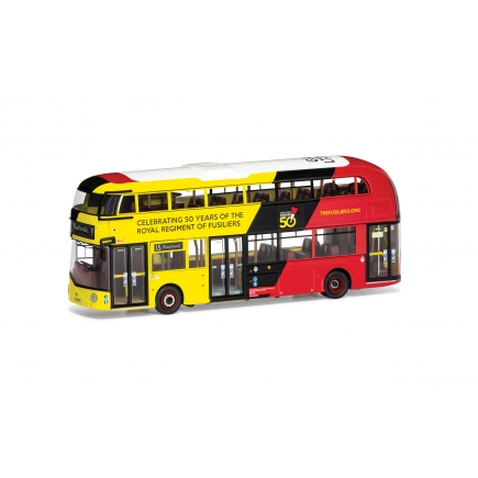 Corgi OM46627A Wrightbus New Routemaster GoAhead London LTZ 1394 Route 15 Blackwall Royal Fusilliers