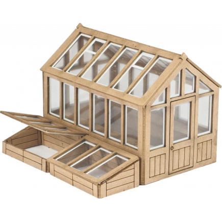 Metcalfe OO Gauge Greenhouse
