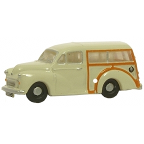 Oxford Diecast Old English White Morris Traveller