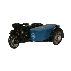 RAC BSA Motorcycle and Sidecar