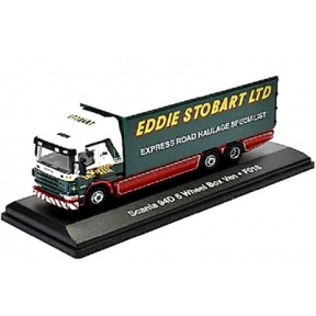 Eddie Stobart Scania 94D 6 wheel Box Van F018