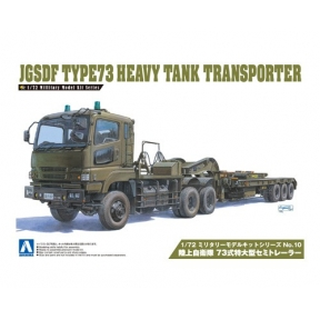 Type 73 Heavy Tank Transporter Plastic Kit