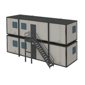 Bachmann 44-081 OO Gauge Portable Offices