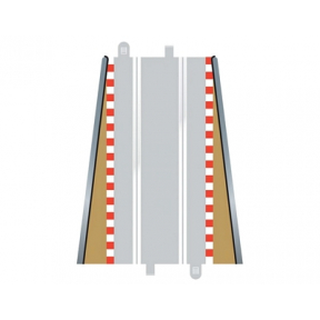 Scalextric Lead in Lead Out Borders 350mm (x2)