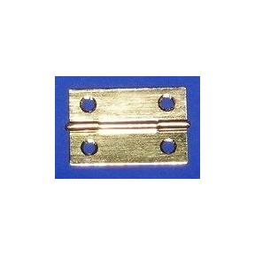 Brass Hinges 35 x 25mm (Set of 2)