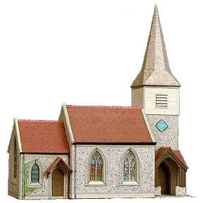 Superquick OO Gauge Country Church