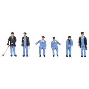 Bachmann 36-407 1950s Train Crew