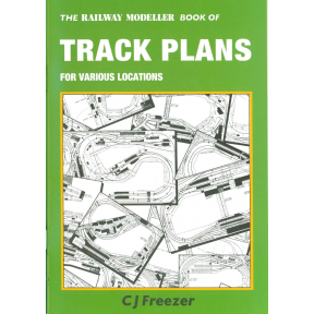 Railway Modeller Book Of Track Plans For Various Locations