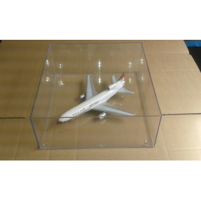 320mm x 320mm x 123mm Clear Display Case Aircraft Display Box