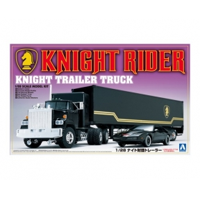 Knight Rider Trailer Truck Plastic Kit