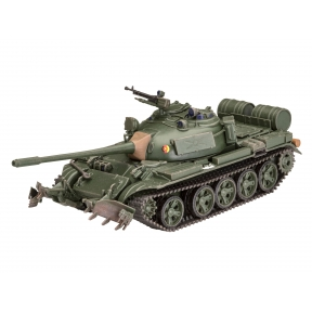 Revell T-55A/AM Tank with KMT-6/EMT-5 Plastic Kit