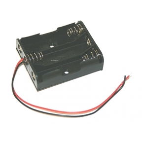 Battery Holder (3 x AA with leads)