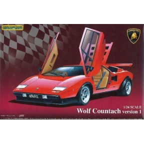 Lamborghini Wolf Countach Version 1 Plastic Kit