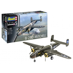 Revell North American B-25D Mitchell Plastic Kit