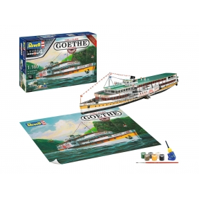 Revell Rheindampfer Goethe Paddle Steamer Gift Set
