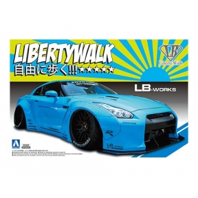 Nissan R35 GT-R Version 1 Plastic Kit