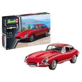 Revell 07668 Jaguar E-Type Coupe Plastic Kit