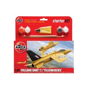 Airfix Folland Gnat T.1 'Yellowjacks' (Starter Set)
