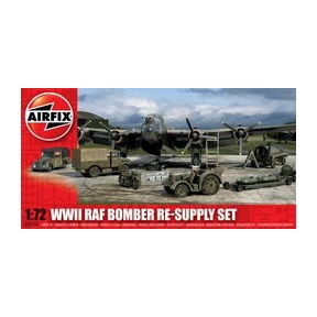 Airfix WWII RAF Bomber Re-Supply Set