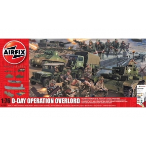 Airfix A50162A D-Day 75th Anniversary Operation Overlord Gift Set