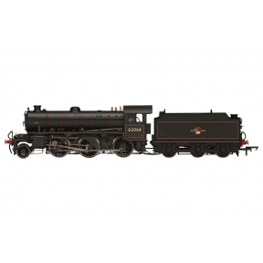 Hornby R3417 OO Gauge BR K1 Class 2-6-0 62065 BR Black Late Crest