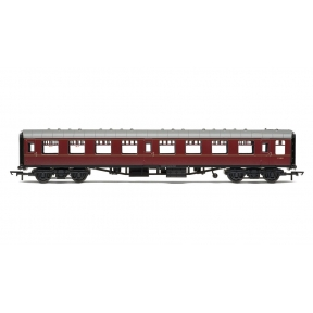 Hornby R4786 OO Gauge BR Mk1 Coach Second Open (SO) BR Maroon