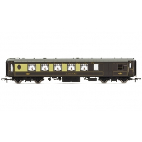 Hornby R4695 K Type Pullman 2nd Class Brake Parlour Car No.80