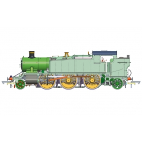 Hornby R3721X GW Class 61xx Large Prairie Tank 2-6-2T 6110 GWR Great Western DCC Fitted