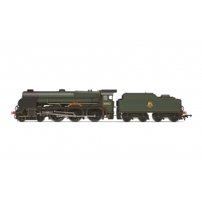 Hornby R3732 Lord Nelson Class 4-6-0 30852 'Sir Walter Raleigh' BR Early Crest