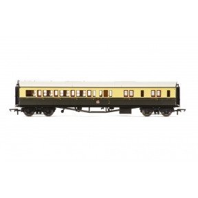 Hornby R4680A Collett Bow Ended Corridor Brake Third GWR