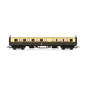 Hornby R4682A Collett Bow Ended Corridor Composite GWR