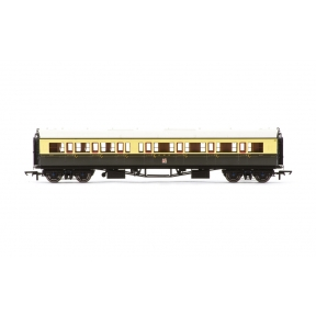 Hornby R4683A Collett Bow Ended Corridor Composite GWR