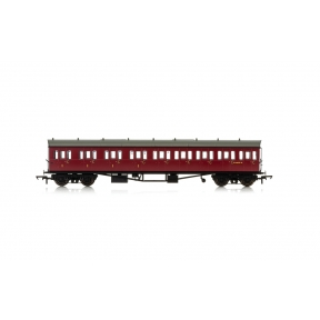 Hornby R4878A BR Collett 57' Bow Ended E131 Nine Compartment Composite