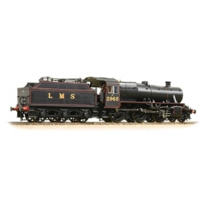 Bachmann 31-690 LMS Stainer Mogul 2-6-0 2955 LMS Lined Black