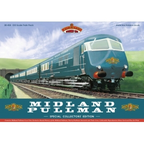 Bachmann 30-425 Midland Blue Pullman Train Pack