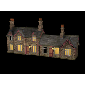 Bachmann 44-0082 Hampton Station Building With Lights