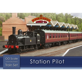 Bachmann 30-180 The Station Pilot Train Set