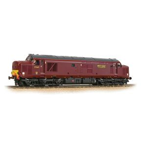 Bachmann 32-395DS Class 37/5 Refurbished 37669 WCRC Maroon